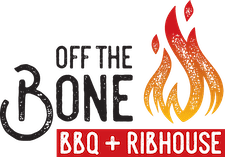 Off the Bone BBQ + Ribhouse Logo